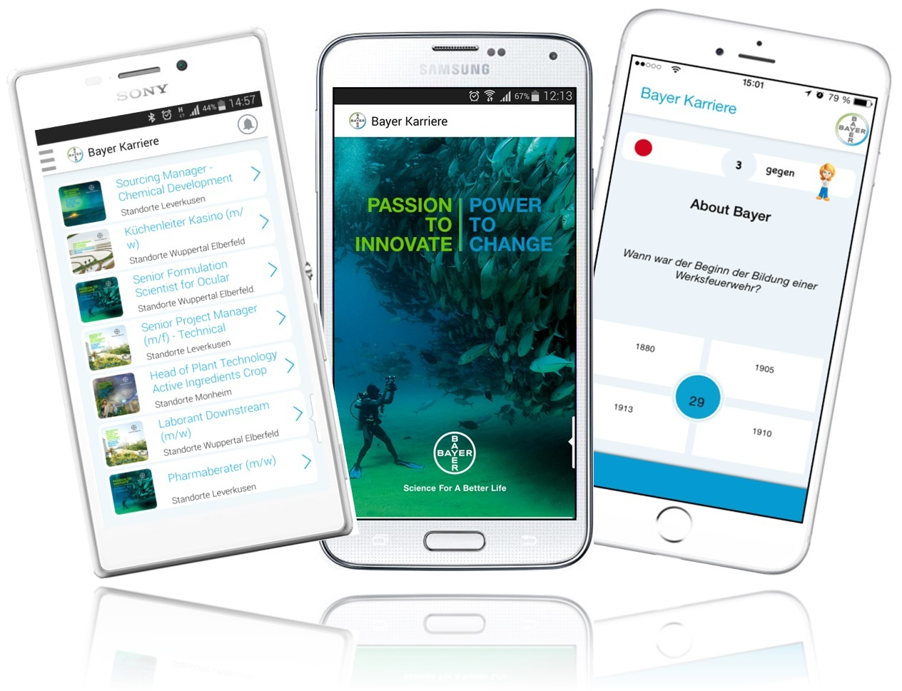 Bayer Karriere App